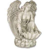 Angel Of The Waters 34in. Fiberglass Indoor/Outdoor Garden