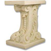 Antica Pedestal 18in. Fiberglass Indoor/Outdoor Garden
