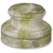 Baroque Pedestal Base 12in. Fiberglass Indoor/Outdoor Garden