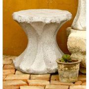 Cantina Pedestal Wide 17in. Fiberglass Indoor/Outdoor Garden