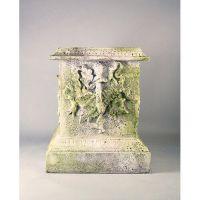 Decorative Pedestal Fiberglass Indoor/Outdoor Garden