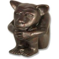 Dedo Gargoyle Medium 6in. High Fiberglass Indoor/Outdoor Garden