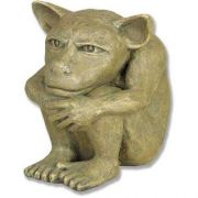 Dedo The Gargoyle 3in. High Fiberglass Indoor/Outdoor Garden