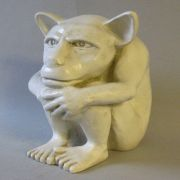 Dedo The Gargoyle Large Fiberglass Indoor/Outdoor Garden