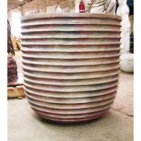 Eos Pot 37in. Fiberglass Indoor/Outdoor Garden
