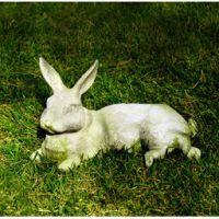 Field Rabbit Fiberglass Indoor/Outdoor Garden Statue