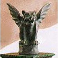 Gargoyle 6in. Fiberglass Indoor/Outdoor Garden