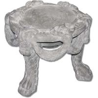 Gothic Stool 19in. Fiberglass Indoor/Outdoor Garden