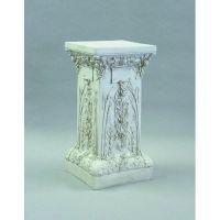 """Ivy Pedestal 37"""" High Fiberglass Indoor/Outdoor Garden"""