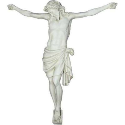 Large Corpus of Christ for Church Head Down 33in. Fiberglass Resin -  - F8516RLC