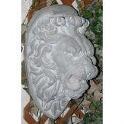 Lion Head From Commo 22in. Fiberglass Indoor/Outdoor Garden
