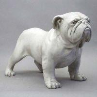 Little Bulldog 7.5in. High Fiberglass Indoor/Outdoor Garden