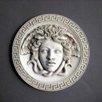 Medusa Plaque 8in. Fiberglass Indoor/Outdoor Garden Statue