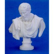 Michelangelo Bust 32in. (Chest) Fiberglass Indoor/Outdoor Garden