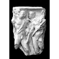 Roman Warrior Fragment 15in. Fiberglass Indoor/Outdoor Garden