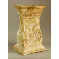 Russo Pedestal 28in. High Fiberglass Indoor/Outdoor Garden