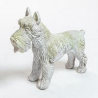 Schnauzer Dog Fiberglass Indoor/Outdoor Garden