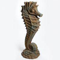 Seahorse-58in. Fiberglass Indoor/Outdoor Garden