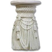 Tassel Pedestal 18in. Fiberglass Indoor/Outdoor Garden