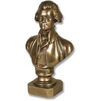Thomas Jefferson By Houdon Fiberglass Indoor/Outdoor Garden