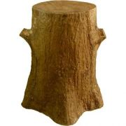 Tree Trunk Pedestal 30in. Fiberglass Indoor/Outdoor Garden
