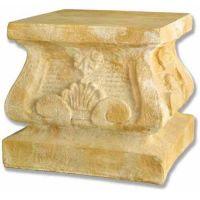 Tuscany Large Pedestal 19in. Fiberglass Indoor/Outdoor Garden