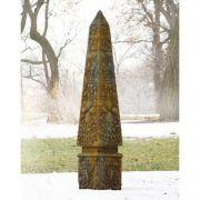 Venetian Obelisk 72in. Fiberglass Indoor/Outdoor Garden