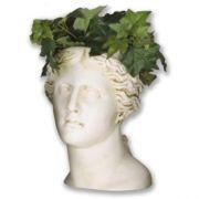 Venus Head Planter 13.5in. High  Fiberglass Indoor/Outdoor Garden