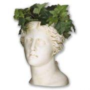 Venus Head Planter 14in. Fiberglass Indoor/Outdoor Garden