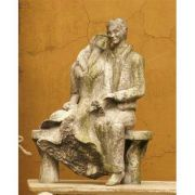 Winter In The Park 15in. Fiberglass Indoor/Outdoor Garden Statuary