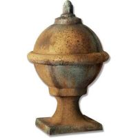 Zinc Costal Finial 22in. Fiberglass Indoor/Outdoor Garden