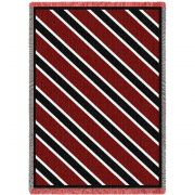 Spirit Red and Black Blanket 69x48 inch