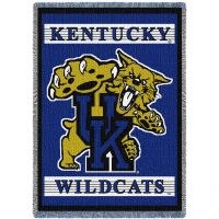 University of Kentucky Mascot Stadium Blanket 48x69 inch