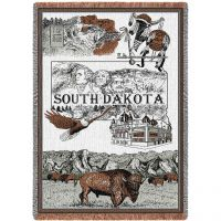South Dakota Blanket 48x69 inch