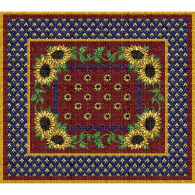 Sunflowers Splendor Placemat 18x13 inch - 666576045915 - 1018-PM