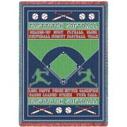 Fast Pitch Field Blanket 48x69 inch