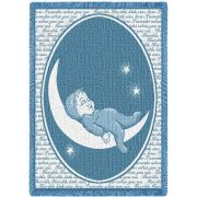 Twinkle Twinkle Little Star Mini Blanket 48x35 inch