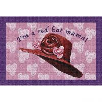 Red Hat Mama Placemat 18x13 inch