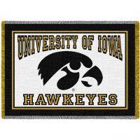 The University of Iowa Stadium Blanket 48x69 inch