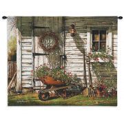 Spring Cleaning Wall Tapestry27x32 inch