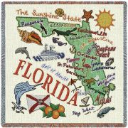 Florida State Small Blanket 54x54 inch54x54 inch