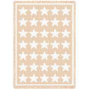 Stars Natural Blanket 48x69 inch