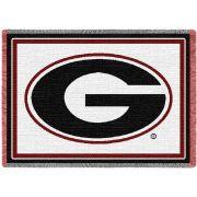 University of Georgia Logo Small Stadium Blanket 48x35 inch