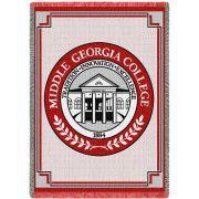 Middle Georgia College Cochran Seal Stadium Blanket 48x69 inch
