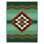 Turak Tapestry Throw 53x70 inch