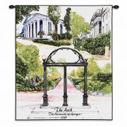 University of Georgia Arch Wall Tapestry 26x34 inch