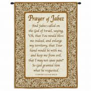 Prayer Of Jabez Wall Tapestry 34x26 inch