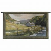 Summer Memories Small Wall Tapestry 44x26 inch