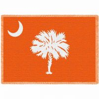 Palmetto Orange Stadium Blanket 48x69 inch