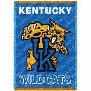 University of Kentucky Mascot Small Stadium Blanket 35x48 inch